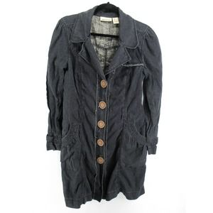 DKNY Jeans Vintage Y2K Lightweight Trench Coat